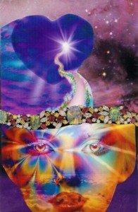 Cosmic Heart Path web